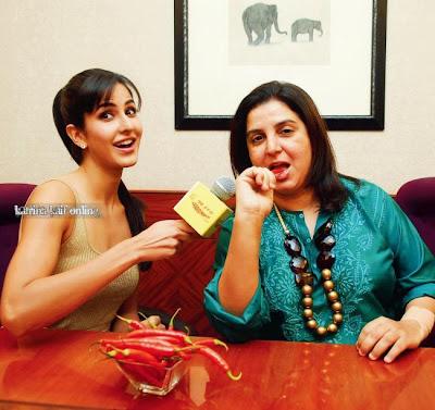 Katrina Kaif & Farah Khan