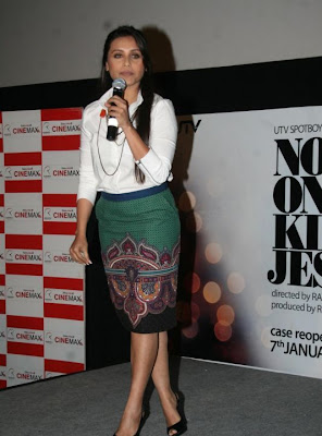 Rani Mukherjee unveils No One Killed Jessica