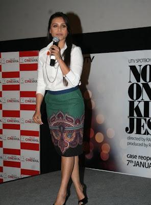 Rani Mukherjee unveils No One Killed Jessica