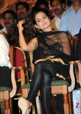 Amisha Patel at the launch of TSR Lalitha kala Smitha