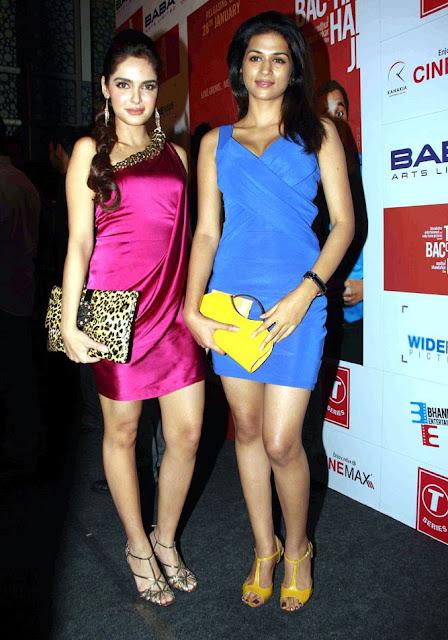 Shazahn Padamsee at Dil to Bacha Hai Jee Movie Music Launch movie photos
