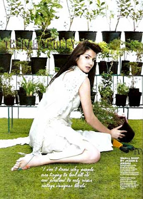 Anushka Sharma on Marie Claire India January 2011