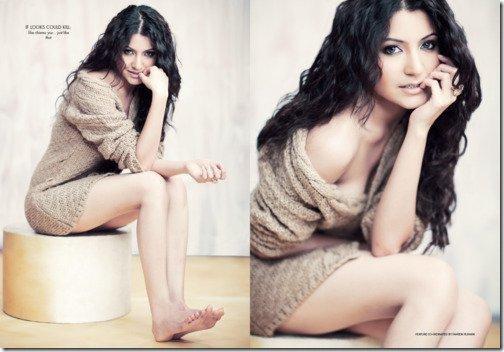 anushka sharma hot saree pics. Anushka Sharma on Filmfare
