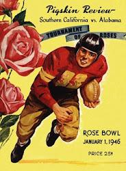 1946 Rose Bowl Program vs. Southern Cal