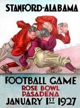 1927 Rose Bowl Program vs. Stanford