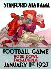 1927 Rose Bowl Program vs. Stanford