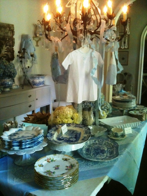 Sandras Added Touch Catering The Perfect Baby Shower In Shades Of Blue