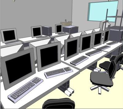 Escapa de la sala de ordenadores