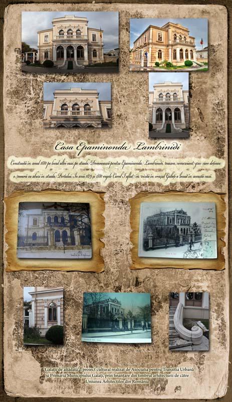 Galaţii de altădată: Casa Lambrinidi
