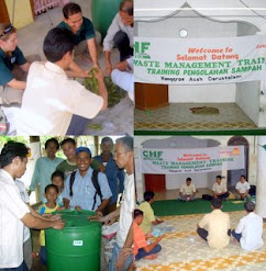 CHF International di Aceh Menggerakkan Masyarakat Membuat Pupuk Kompos