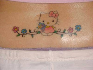 Anime Hello Kitty Tattoos