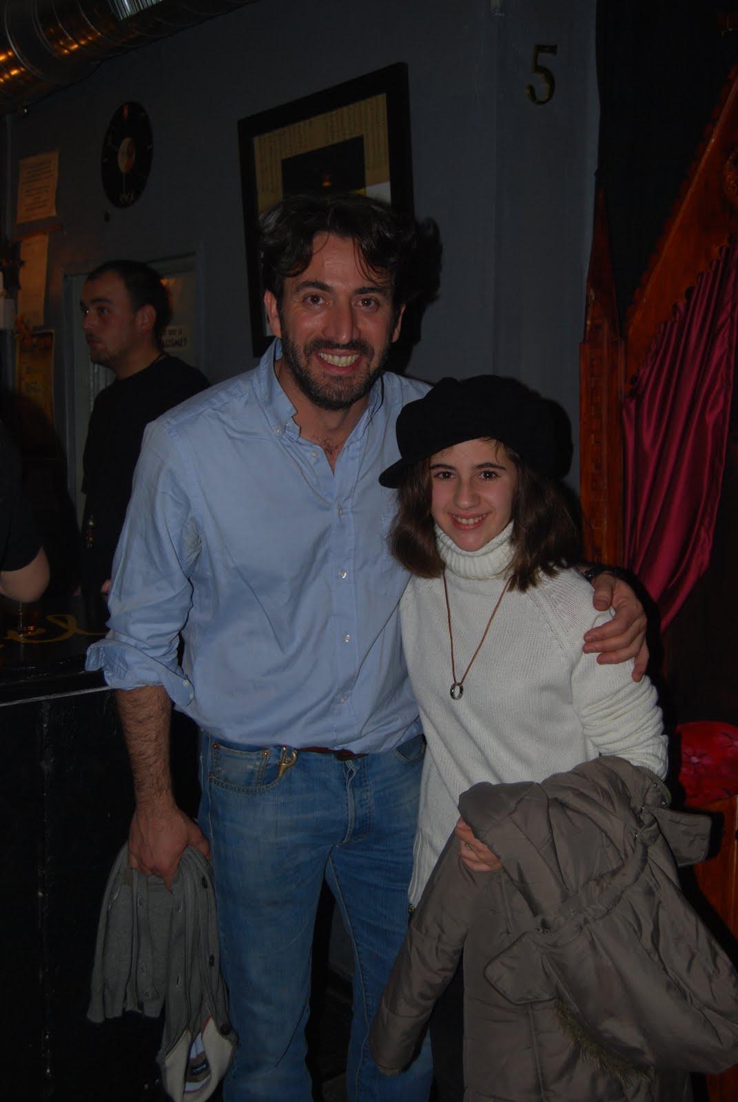 Antonio Garrido y yo.