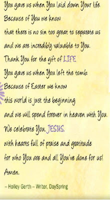 prayer for Easter