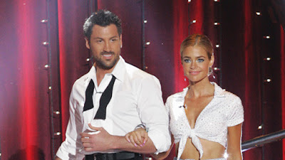 DENISE RICHARDS AND MAKSIM CHERKOVSKIY