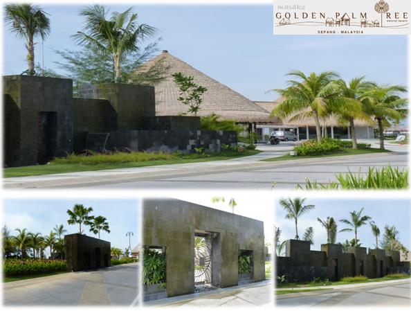 Masako half day trip part 1 golden palm tree sea for Palm tree villas 1