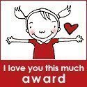 I Love U Award from sis Reena