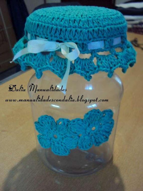 frasco decorado