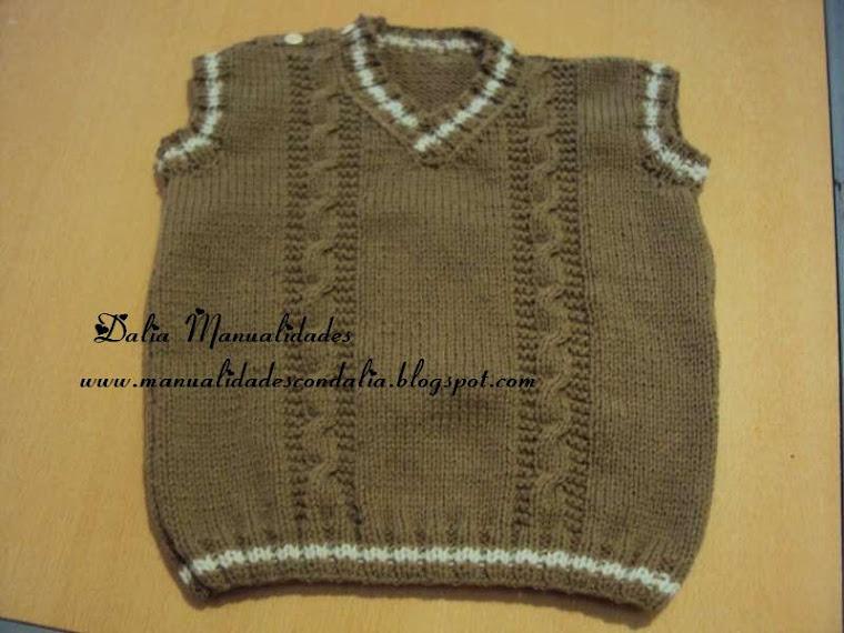 Chalecos tejidos de lana para niños - Imagui