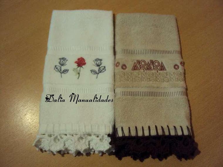 toallas para cartera