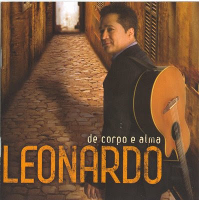 Capa do CD Leonardo – De Corpo e Alma