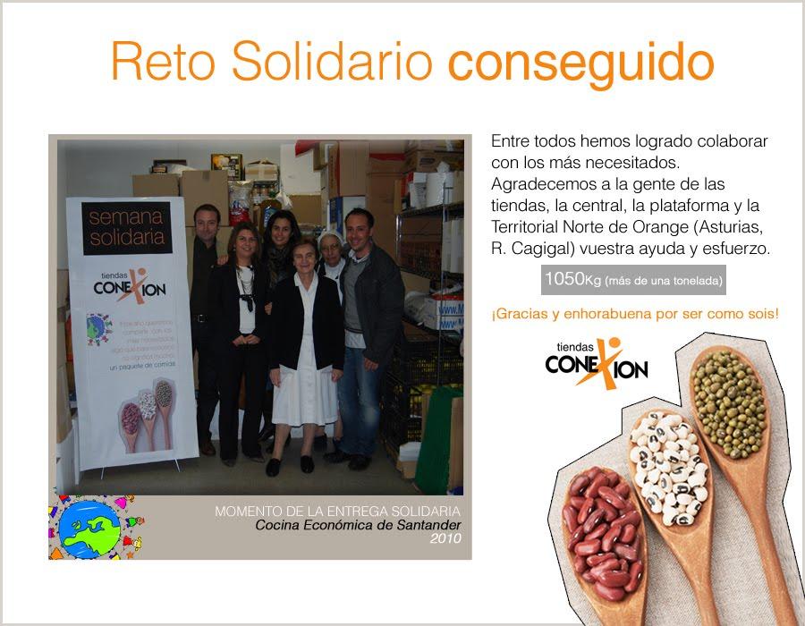 El blog de conexi n conseguimos el reto solidario - Cocina economica santander ...