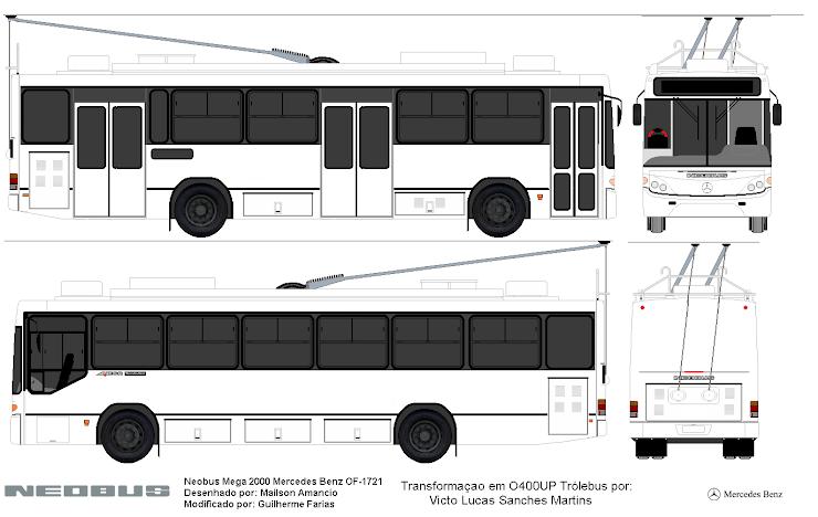 Neobus Mega Evolution MB O400UP Trólebus