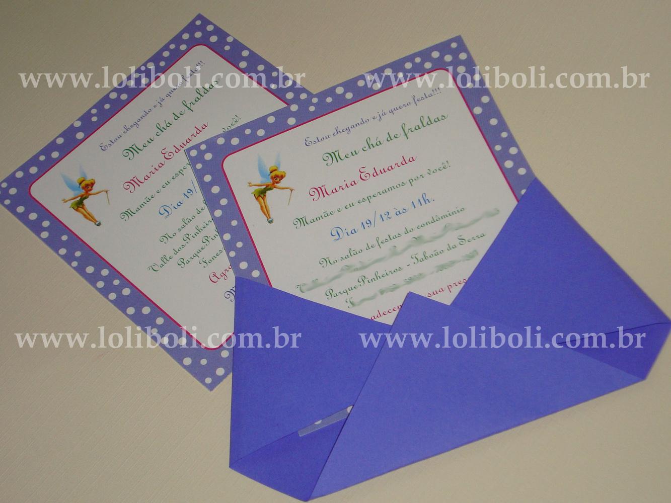 Convite De Ch   De Beb     Maria Eduarda
