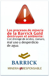NO A LA BARRICK GOLD !!!