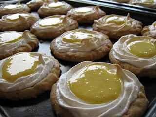 Biscuits au citron et meringue Biscuts+citron