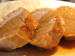 recettes  Filet de porc sauce à lorientale