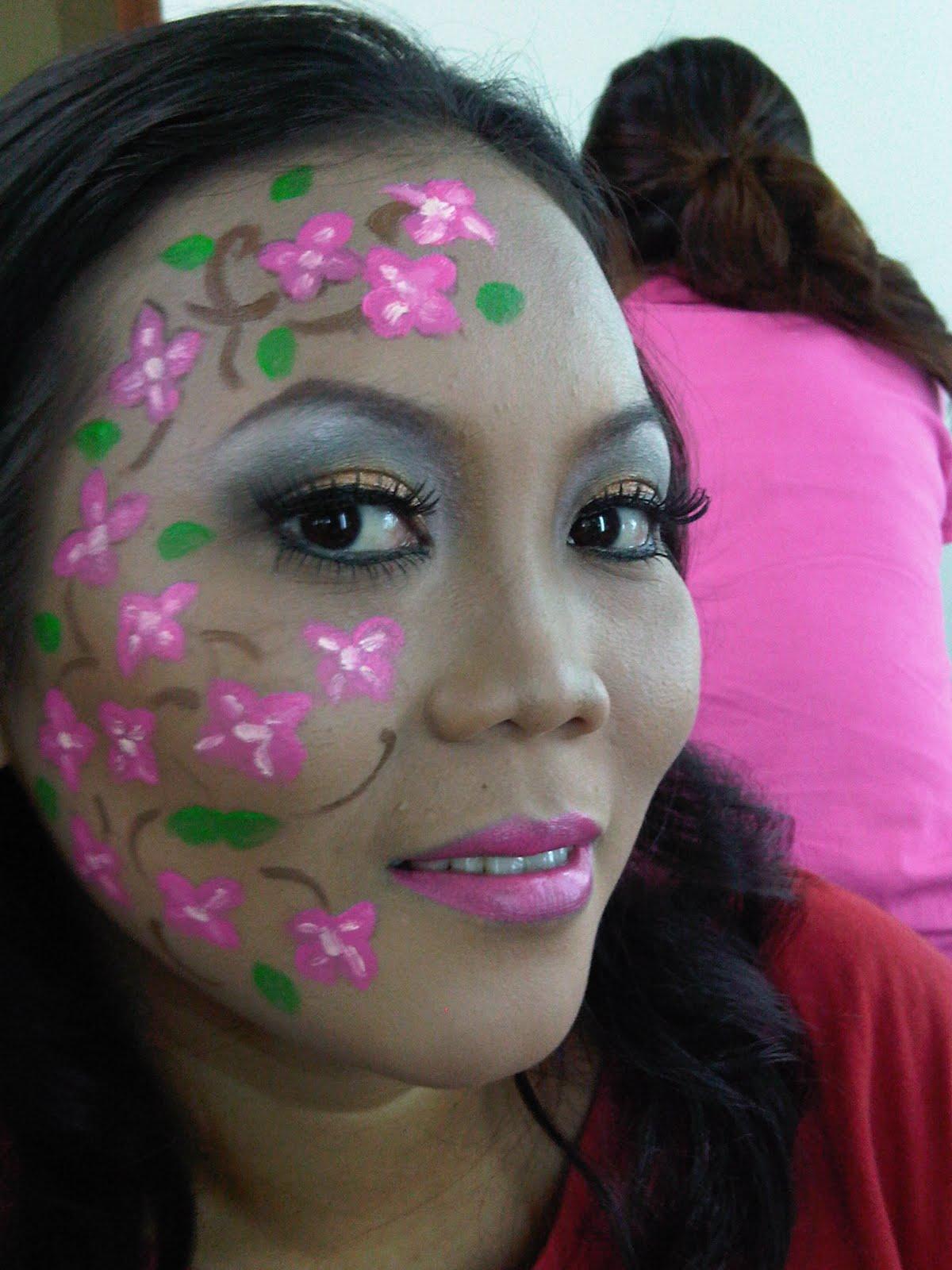 makeup by ditya my face painting makeup using la tulipe