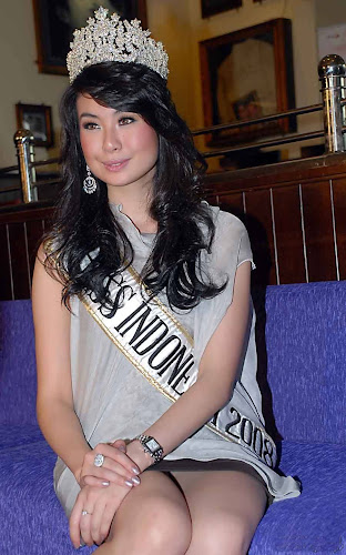 Foto Sandra Angelia | Foto Miss Indonesia 2008