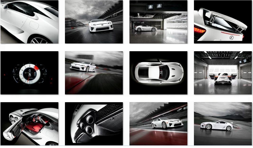 lexus lfa 2012 interior. 2012 Lexus LFA Wallpaper