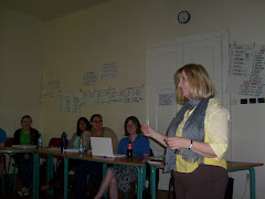 Andrea Telling at Charles University ,Prague,Czech Republic