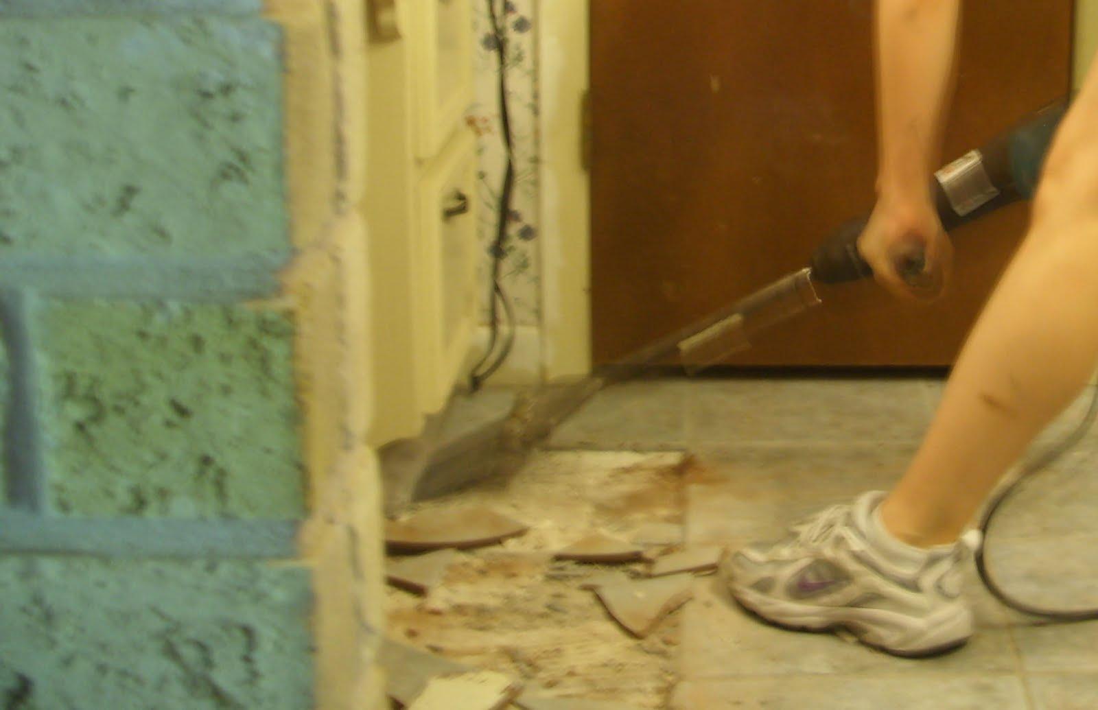 Remodeling For Cheapskates Ceramic Tile Removal