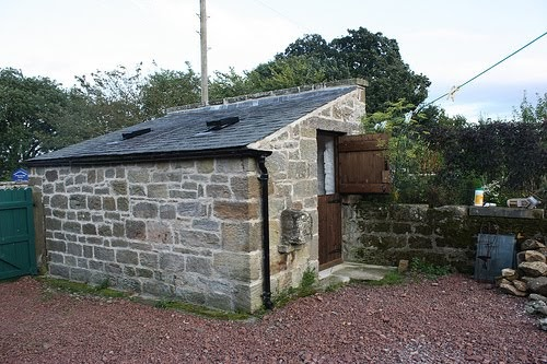 Shedworking pig shed to office conversion for Cheap garden office buildings