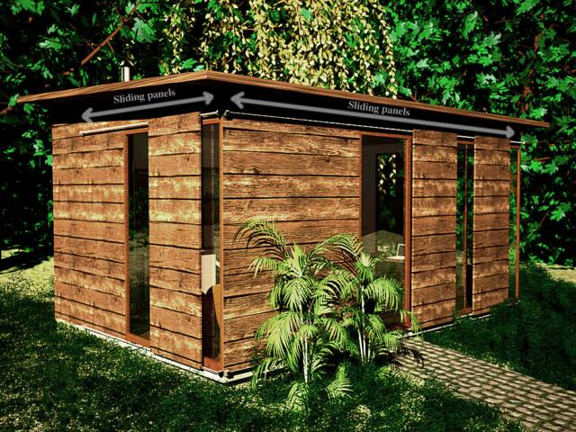 shedworking open office scoops garden office design
