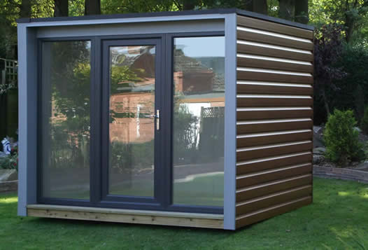 Shedworking urban pod from bespace for Caseta de pvc para jardin