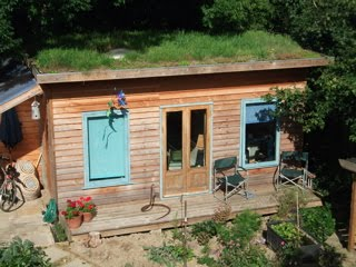 Shedworking: Timber Garden Studio - how to selfbuild your ...