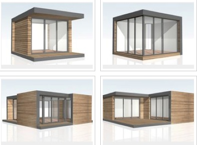 Shedworking how a garden studio can help with your for Build your own garden office