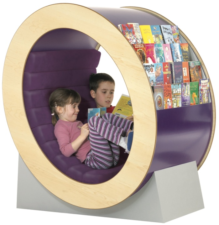 Bookshelf: Reading hideaway