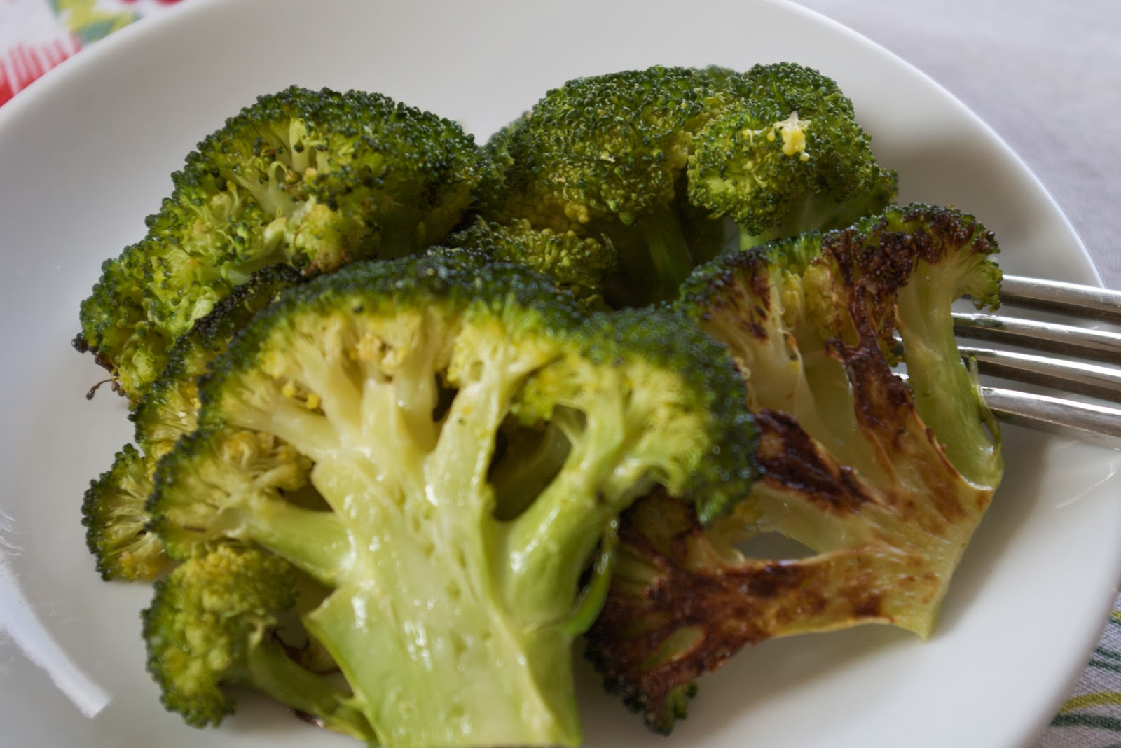 FoodWise Nutrition: Roasted Broccoli and Brussels Sprouts