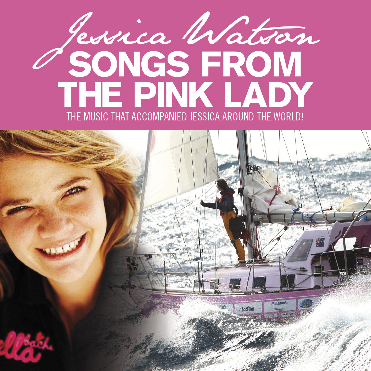 Teen solo sailor Jessica
