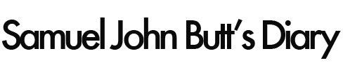 Samuel John Butt's blog
