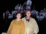 At Disneyland with the Grandkids