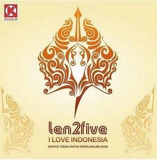 ten2five I Love Indonesia Full Album