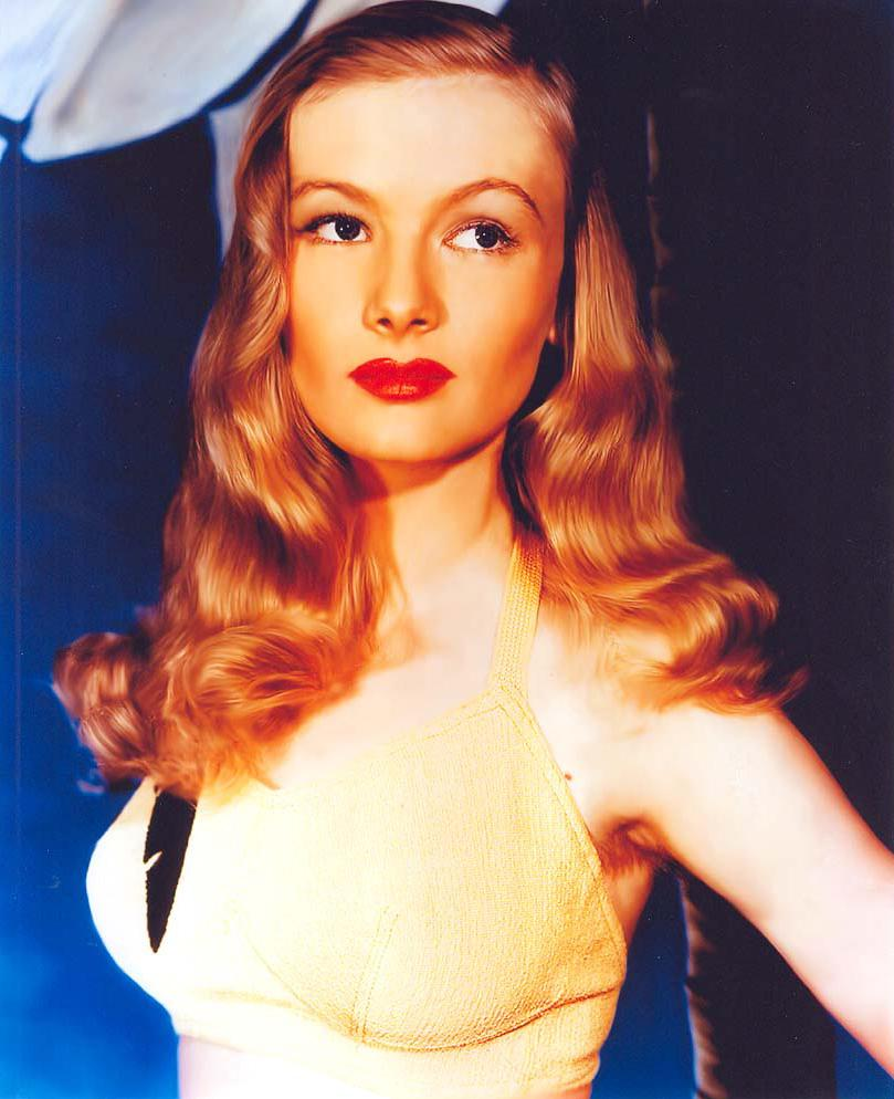 Two-Fisted Tales of True-Life Weird Romance!: Veronica Lake.