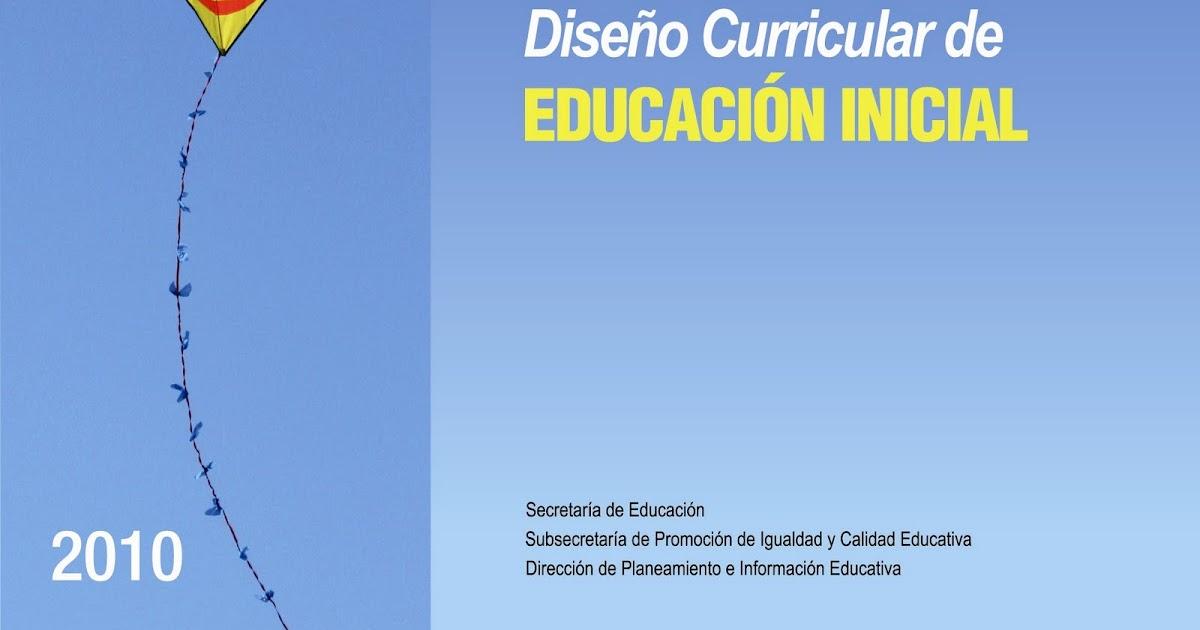 plan provincial de lectura dise o curricular de educaci n On diseno curricular de educacion inicial