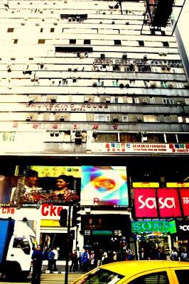 Image of Chungking Mansions, Kowloon, Hong Kong.