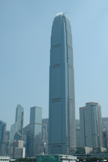 Image of 2IFC, Two International Finance Centre, in Hong Kong.